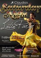 Claudia's Saturday Night Latin Party @ DA VINCI | Σάββατο 22/11